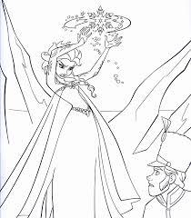 Frozen Disney Coloring Pages 20 Sheets