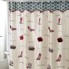 Grey Medallion Curtains Target by Avanti Flirty Shower Curtain