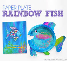 Paper Plate Rainbow Fish Craft