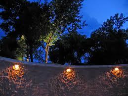 oudoor retaining wall lights lighting for versa lok wall