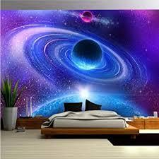 fototapete 3d effekt kosmischer planet tapete modern vlies riesiges bild wohnzimmer schlafzimmer jugendzimmer dekoration 200x150cm