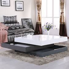 Living Room Table Sets With Storage by Coffee Tables Ebay