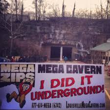 Underground Light Display at Lights Under Louisville at Mega Cavern