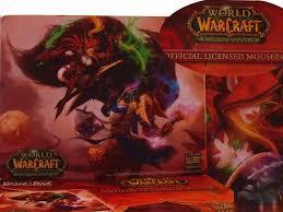 tapis souris wow warcraft pvp duel elfe de sang et draenei