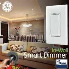 ge smart dimmer z wave in wall 12724 works with