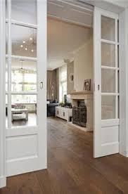 pocket doors between room and great room haus