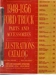 100 Ford Truck Body Parts 19481956 And Accessories Illustrated Catalog