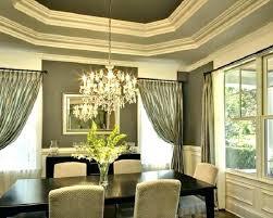 Aqua Dining Room Drapes Formal Living Curtains Inside