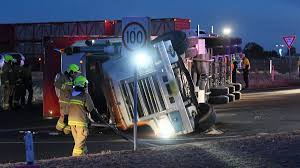 100 Truck Rollover Goddard Lane Truck Rollover Results In Animal Death The Northern