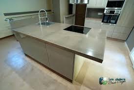 prix b ton cir plan de travail cuisine beton cire table les ateliers brice bayer architecture dintacrieur