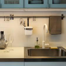table de travail cuisine bien eclairage led plan de envoûtant eclairage led plan de travail