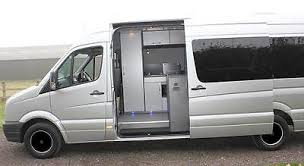 Volkswagen Crafter Sprinter Conversion Mobile Office Race Van Motorhome Bespoke