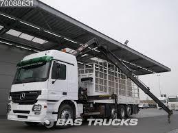 MERCEDES-BENZ Actros 2546 L 8X2 Retarder Lift+Lenkachse Euro 3 Hiab ...