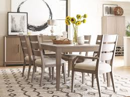 High Line Greige Extendable Leg Dining Room Set From Rachael Ray Home
