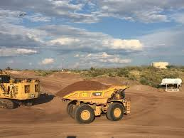 100 Brown Line Trucking Caterpillar Mining Technology Addresses Production Safety Costs