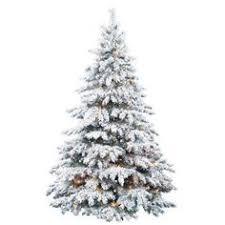 21 Best Flocked Christmas Trees Images On Pinterest