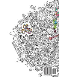 Doodle Fusion Zifflins Coloring Book Volume 2 Zifflin Lei Melendres 9781517376918 Amazon Books