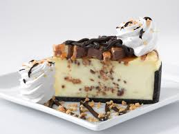 Snickers Bar Chunks and Cheesecake
