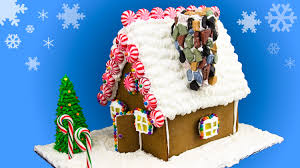 Christmas Tree Meringues Tesco by Gingerbread House Recipes And Templates Christmas Celebrations