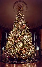 Outstanding Schemes Of Traditional Christmas Tree Decorating Ideas Showing Big And Tall Pine Having Many