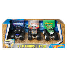 Hot Wheels Monster Jam Truck 3 Pack | Toys R Us Canada