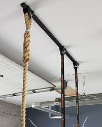 adjustable ceiling mount system gymnastic rings climbing rope