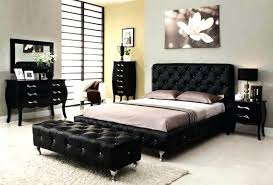 Black Furniture Set Living Room Bedroom Decor