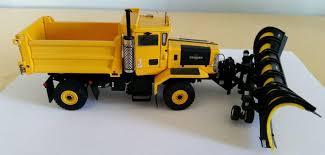 100 Rc Truck Snow Plow 150 YELLOW Sword SW3004Y Oshkosh 2 Axle