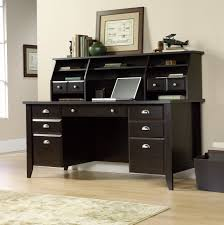 Sauder Edge Water Computer Desk With Hutch by Sauder Computer Desk With Hutch Dark Alder Home Design Ideas