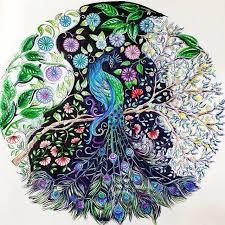 Secret Garden Coloring Book Gel Pens See More Partilhado Com Instagrab