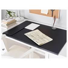 rissla desk pad black ikea
