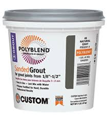 polyblend sanded grout custom building products