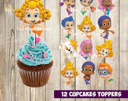 Bubble Guppies Cake Toppers by Printable 3 Princess Aurora Cupcake Toppers Sleeping Beauty