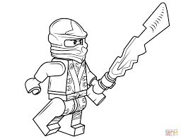 Ninjago Coloring Page Lego Pages Free Beautiful