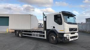 26 Tonne Volvo FE 300 Flatbed Truck For Sale SK63JYU | MV Commercial