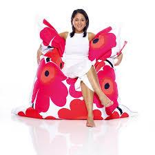 Fatboy Bean Bag Chair Canada by Inspirational Marimekko Fatboy Bean Bag 40 In Home Decor Ideas