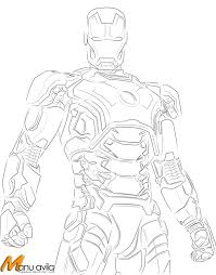 Iron Man 3 Drawing Mark 42 Image Information Best Of Coloring Pages