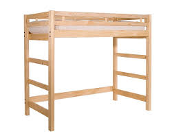 twin xl loft bed frame home design styles