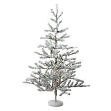 Black Artificial Tree Friday Christmas Deal 2014 With Orange Lights