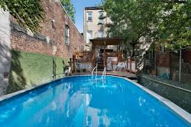 Gowanus Townhouse Comes With Deck, Backyard Pool For $1.65M ... Mid South Pool Builders Germantown Memphis Swimming Services Rustic Backyard Ideas Biblio Homes Top Backyard Large And Beautiful Photos Photo To Select Stock Pond Pool With Negative Edge Waterfall Landscape Cadian Man Builds Enormous In Popsugar Home 12000 Litre Youtube Inspiring In A Small Pics Design Houston Custom Builder Cypress Pools Landscaping Pools Great View Of Large But Gameroom L Shaped Yard Design Ideas Bathroom 72018 Pinterest