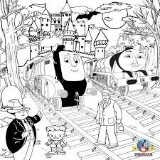 Coloring Pages Spencer Train Gmvcontentcom