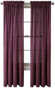 Purple Plum Hyatt Curtain Panel