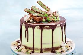 Choc Mint Forest Naked Cake