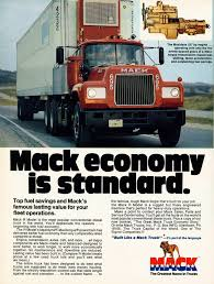 Bulldog Madness! 10 Classic Mack Truck Ads | The Daily Drive ... Mack Classic Truck Collection Trucking Pinterest Trucks And Old Stock Photos Images Alamy Missippi Gun Owners Community For B Model With A Factory Allison Antique Trucks History Steel Hauler Recalls Cabovers Wreck Runaways More From Six Cades Parts Spotted An Old Mack Truck Still Being Used To Move Oversized Loads