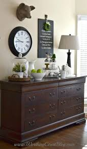 How To Decorate Dining Room Buffet Decorating