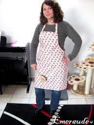 coudre un tablier de cuisine couture tablier de cuisine les passions d emeraude