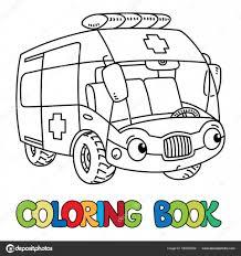Ambulance Coloring Pages Preschool HIH Crafts Pinterest