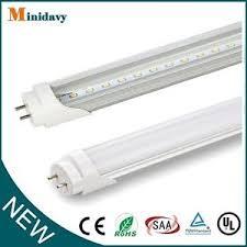 10 100 pack led g13 4ft 4 foot t8 light bulbs 18w 6000k clear
