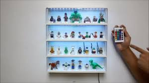 how to add rgb led light to lego minifigure display and lego