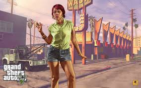 100 Towing Truck Games Grand Theft Auto V Girl Tonya Tow Truck Rockstar Games Concept Art